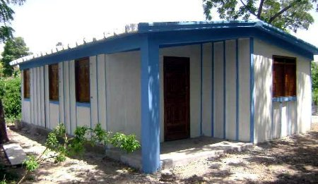 FerroCement pre-cast house in Haiti