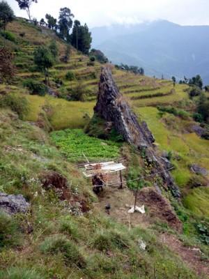 Reconstrucción después del terremoto en Nepal