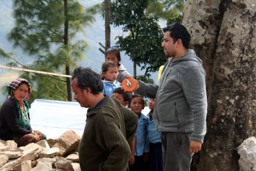 Cooperación después del terremoto en Nepal